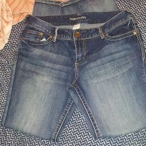 Juniors Maurice's jeans